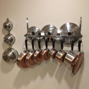 Vintage Revere Ware Pots and Pans