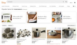 Revere Ware at Etsy